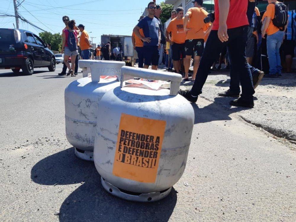 Sindipetro-RS promove mais uma edição da campanha Gás a Preço Justo