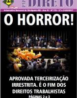 O Horror!